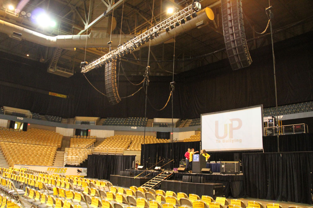 Stand Up 2013 - Sound, Lighting, and Video for anti-bullying event