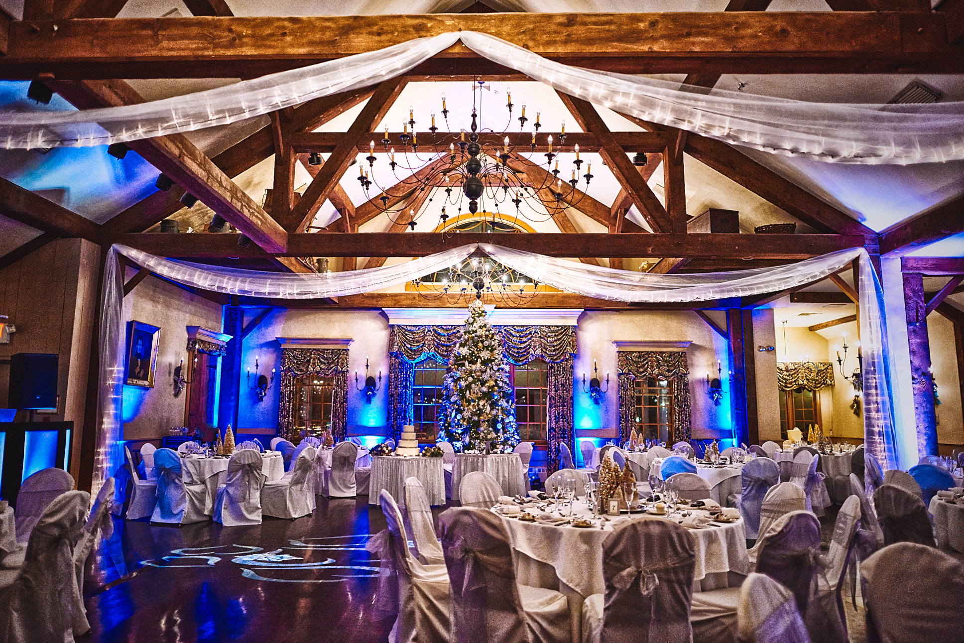 Publick House Wedding Uplighting