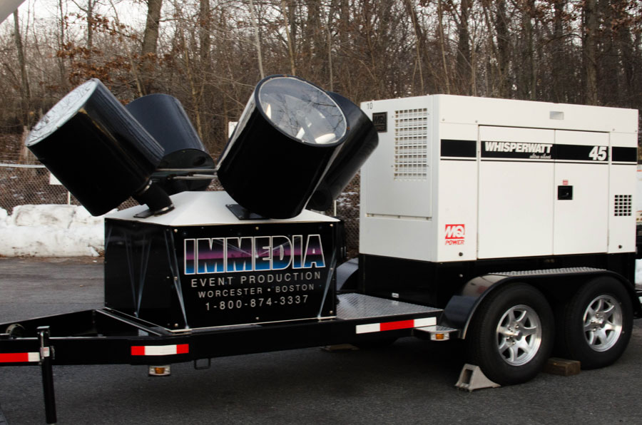 Immedia Searchlight Rental Service in Providence, RI